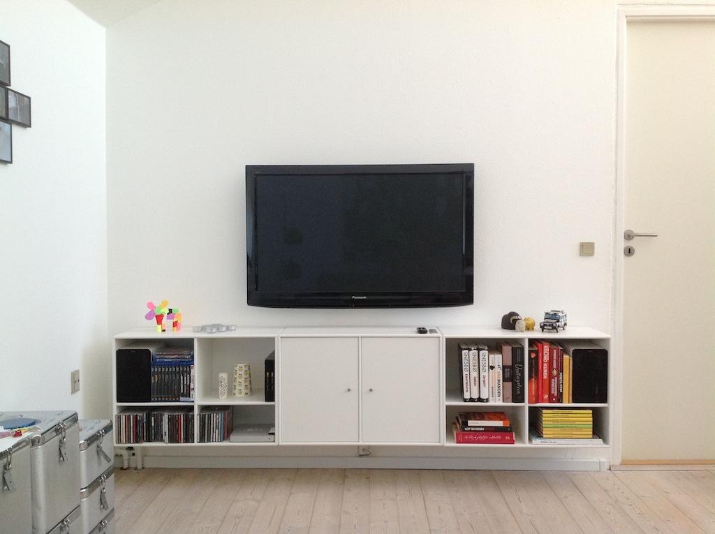 Vegghengt media og TV lsning (best fra IKEA) Snikksnakk, plsevev ...