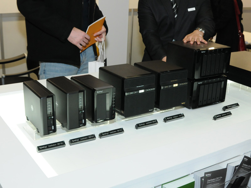 cebit synology neue stations seite 4. Black Bedroom Furniture Sets. Home Design Ideas