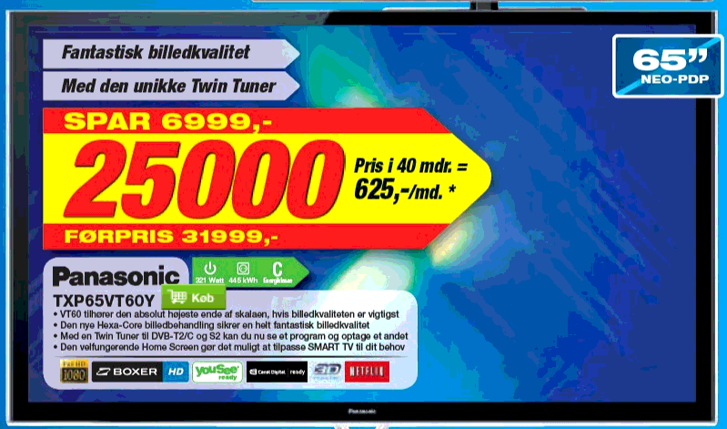 Panasonic snyder med prisen? - recordere.dk forum - Side 5