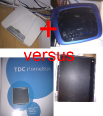 Hvilken wifi-router ? Linksys + switch vs  SAGEM - recordere dk forum