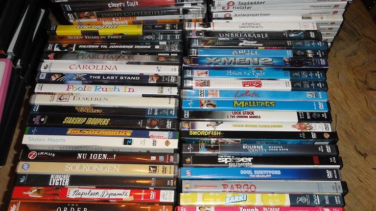 brugte dvd film
