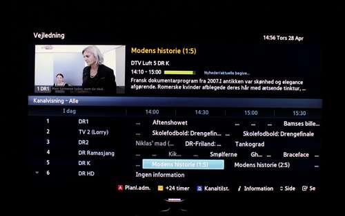 Samsung Smart TV EPG - recordere dk forum - Side 1